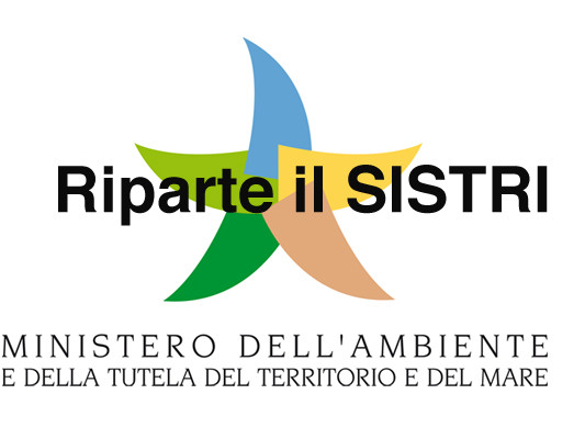 SISTRI – Riparte il Sistema di Tracciabilità dei Rifiuti Speciali e pericolosi