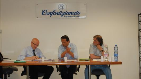 Il Presidente Giorgio Merletti incontra i vertici di Confartigianato Imprese Lazio