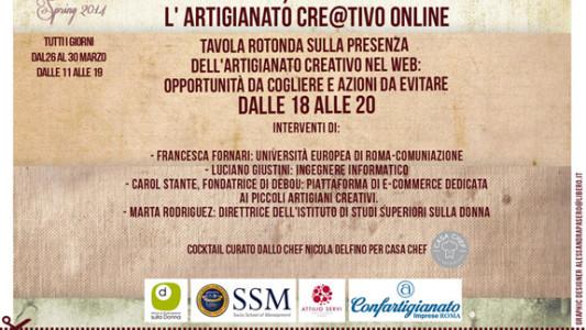 L'Artigianato Cre@tivo on line – giovedi 27 marzo