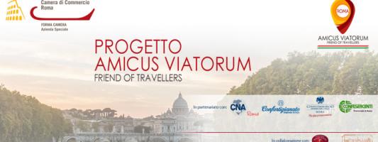 È on line il sito del progetto AMICUS  VIATORUM