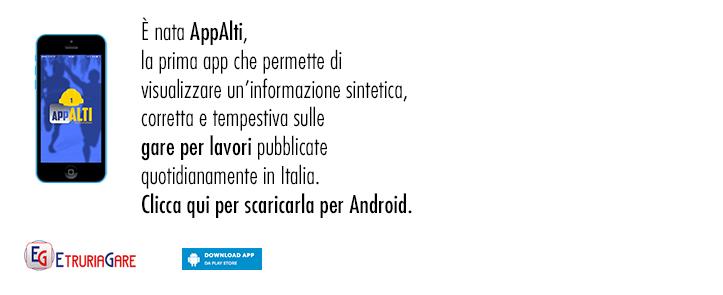 Clicca qui per scaricare AppAlti per Android
